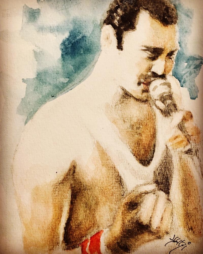 Freddie Mercury par yukiC